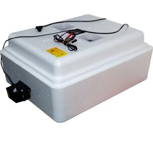Бытовой инкубатор «Несушка» на 77 яйц, автоматический переворот, цифровой терморегулятор, 12В, измеритель влажности  с вентиляторами