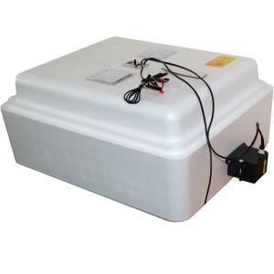 Бытовой инкубатор «Несушка» на 77 яйц, автоматический переворот, аналоговый терморегулятор, с цифровой индикацией, 12В
